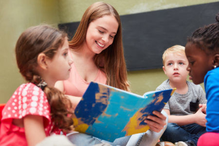Trouvez le bon jardin d'enfants