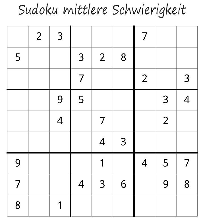 Sudoku Rätsel Buch kostenlos herunterladen