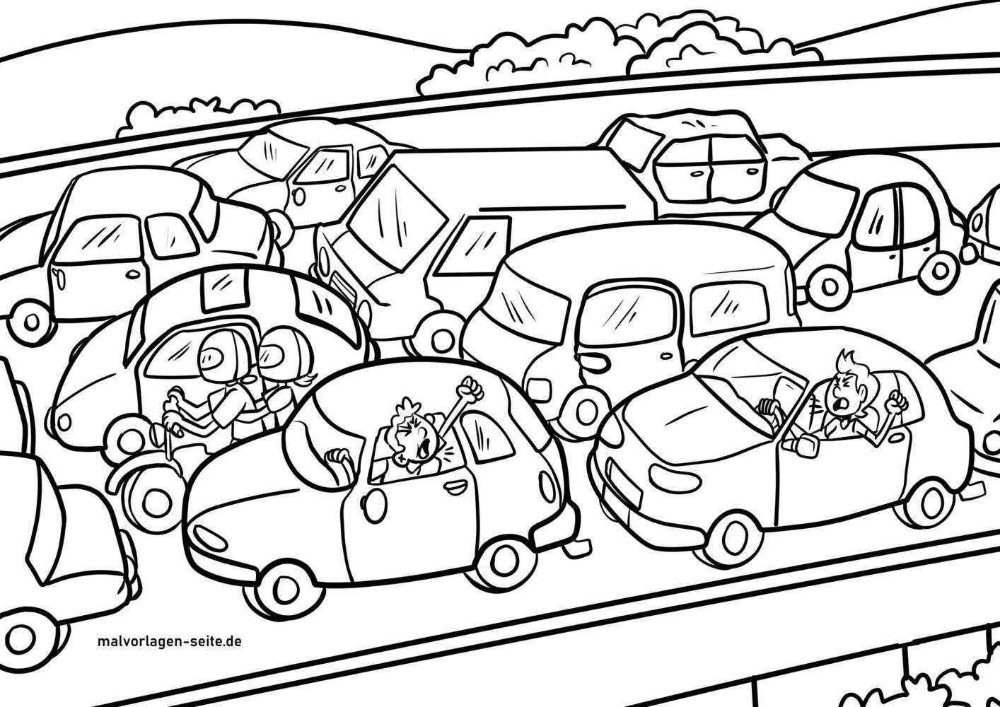 საღებარი გვერდების საცობი - მანქანა - უფასო საღებარი გვერდები