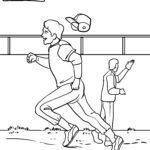 Baseball - sportovní omalovánky