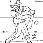 Размалёўка бейсбол - спорт