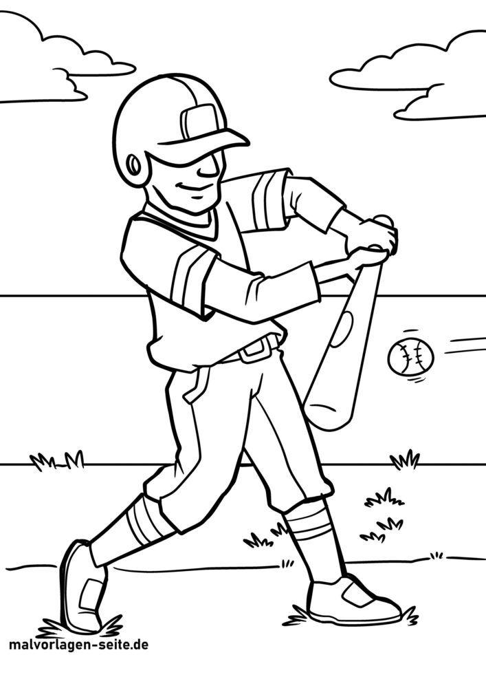 Boyama səhifəsi beysbol