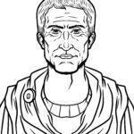 ទំព័រពណ៌ Gaius Julius Caesar