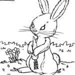 Boyama səhifəsi dovşan