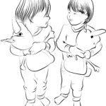 Tegninger til farvelægning børn