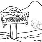 Pagina di culore di u polu nordu