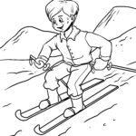 Ski fandokoana pejy - fanatanjahan-tena amin'ny ririnina