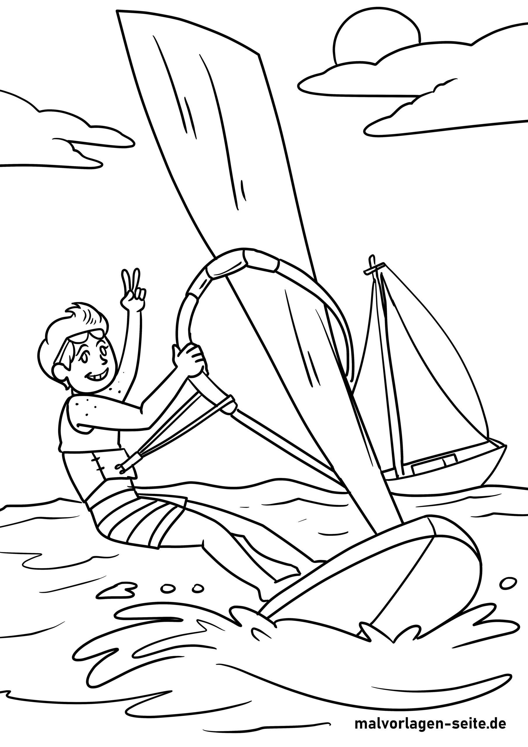 Boyama səhifəsində sörf