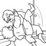 Malvorlage Judo
