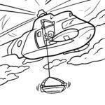 საღებარი გვერდი სანაპირო დაცვის ვერტმფრენი