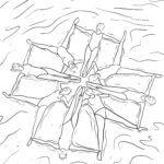 Размалёўка сінхроннае плаванне - плаванне