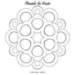 Teamplaid Mandala airson clann