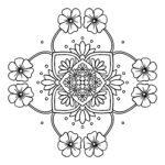 Fiore / mandala in fiore per bambini