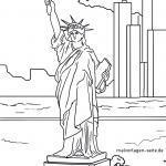 Statue o Liberty Nu Ioka no ka waihoʻoluʻu