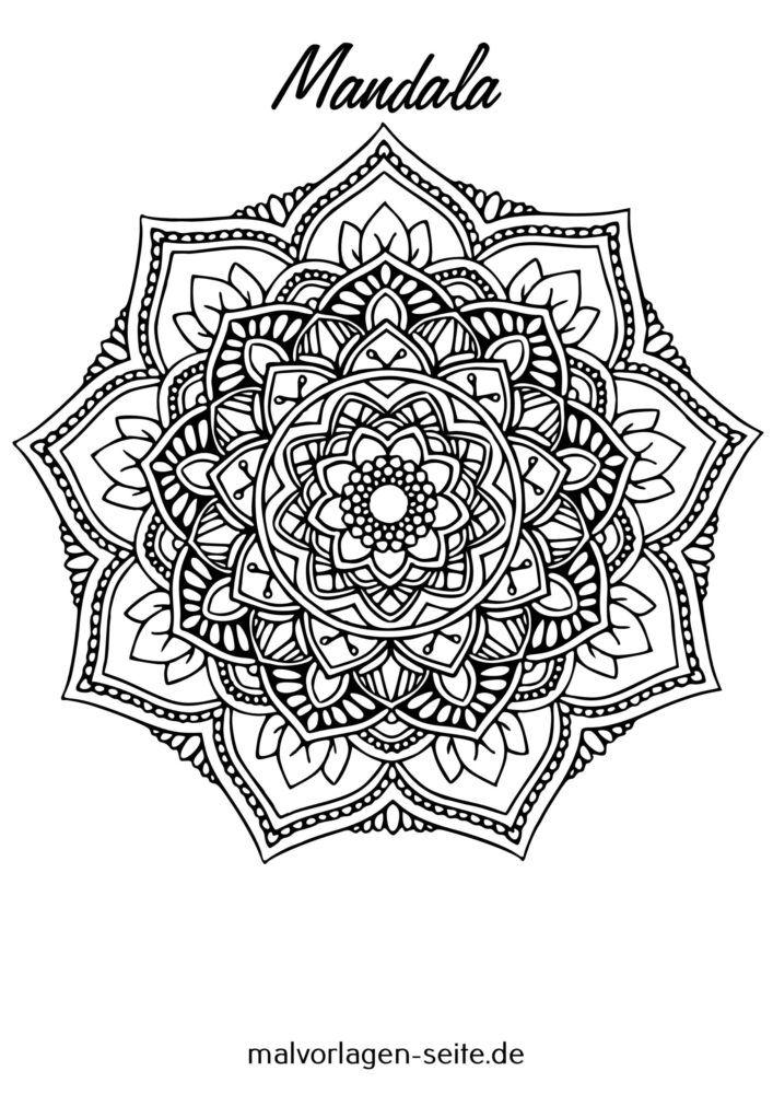 ለታላላቆች Mandala