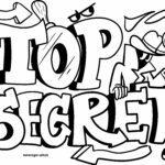 Modelo de graffiti Top Secret