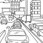 Қалалық трафикті бояу