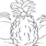 Pineapple duilleag dathte