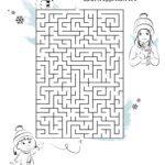 Labyrint - Fyn de wei nei de snieman