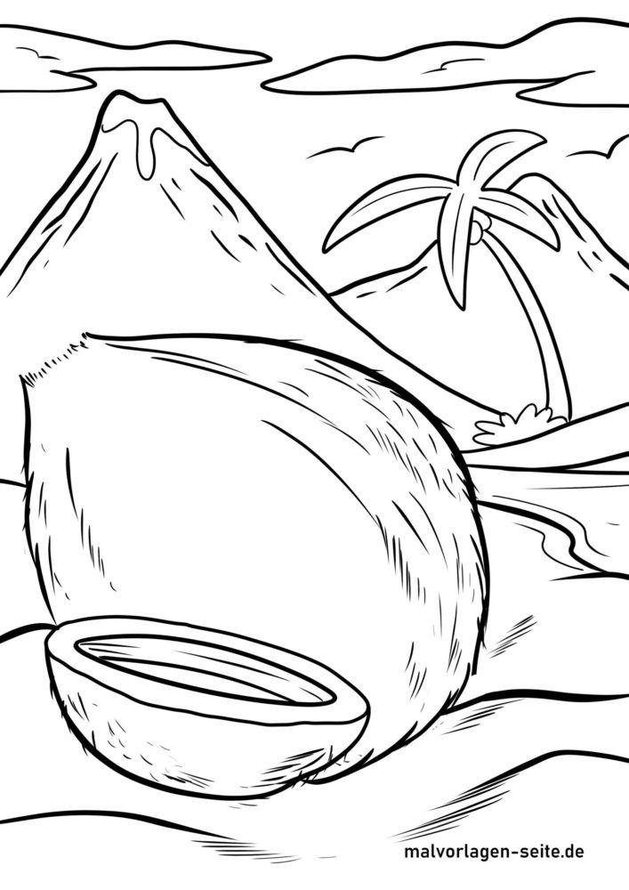 Кокосын самар будах хуудас
