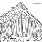 Panid sa pagkolor sa Greek temple / Greek Castle
