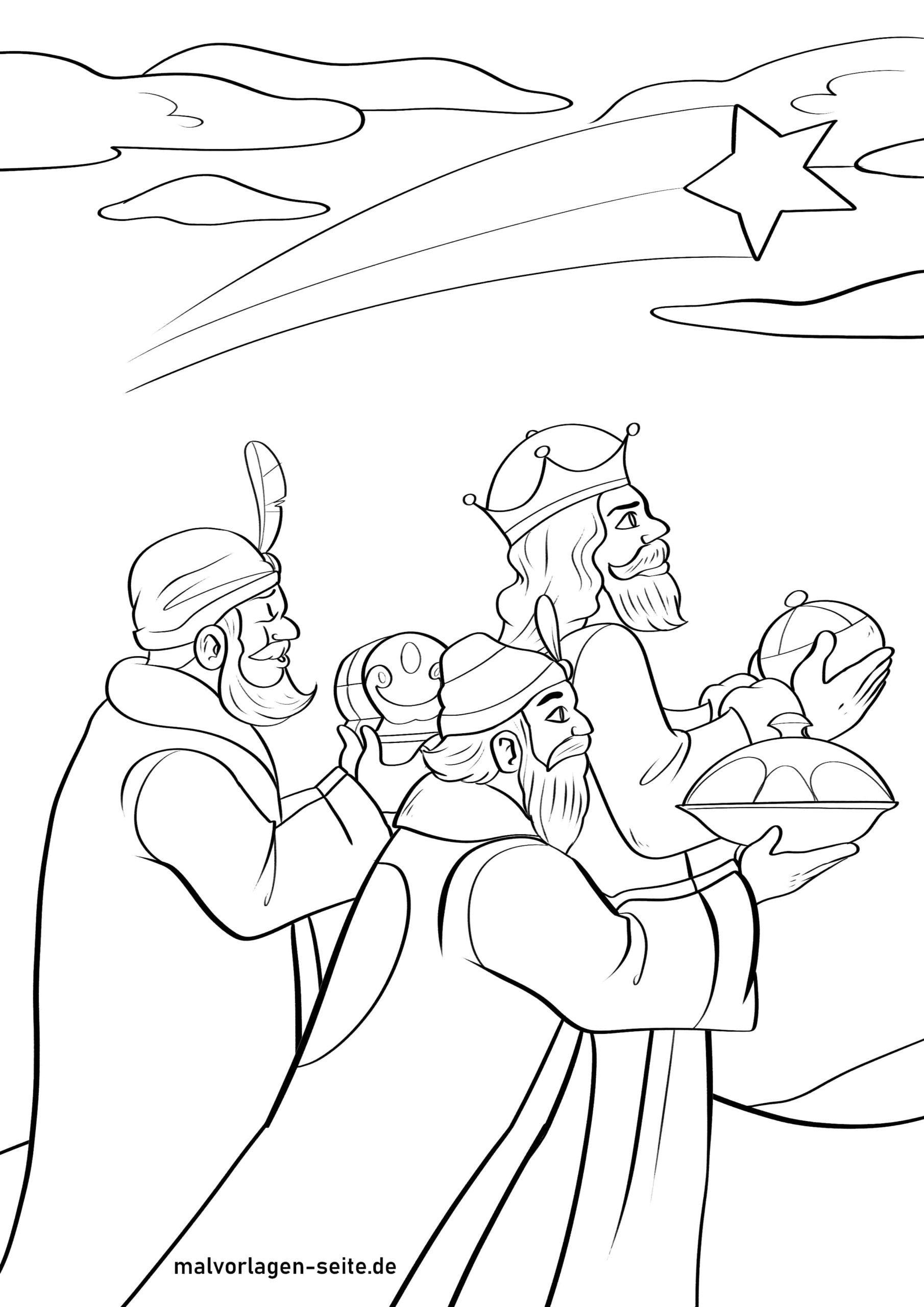 খোলামেলা পৃষ্ঠা, তিনটি জ্ঞানী লোককে খোলামেলা, সোনার এবং মরিচ দিয়ে