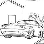 Бояу беті автокөлік спорттық машинасы