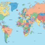 Weltkarte - Landkarte der Welt | World map