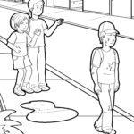 ಬೆದರಿಸುವಿಕೆ ಮತ್ತು ಹೊರಗಿಡುವಿಕೆಯ ವಿರುದ್ಧ ಬಣ್ಣ ಪುಟ
