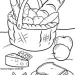 Раскраска пикник