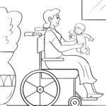 Страница за боење жена во инвалидска количка