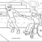 Страница за боење пријатели во инвалидски колички