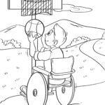Страница за боење кошаркарска количка