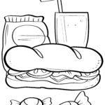 ساندویچ صفحه رنگ آمیزی