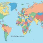 Mundi map - Tabula orbis terrarum sine nomine