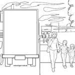 Раскраска загрязнение воздуха - охрана окружающей среды